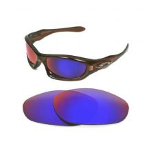 NEW POLARIZED CUSTOM  LIGHT +RED LENS FOR OAKLEY MONSTER DOG SUNGLASSES